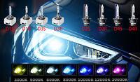 2x Xenon Brenner Birne Birnen Lampe D1S D2S D2R D3S 6000K 8000K 10000K E-Prüfz.