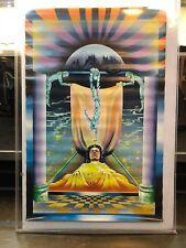 "Vintage Psychedelic Poster Third Eye ""Birth"" Man Dream 1972 #2016"