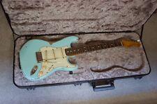 Custom 60's Sonic Blue Relic Stratocaster Guitar. Fender Vintage '65 Pickups.