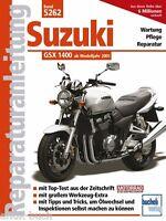 SUZUKI GSX 1400 ab 2001 Reparaturanleitung Reparaturbuch Reparatur/Handbuch Buch