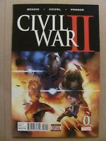 Civil War II #0 1 2 3 4 5 6 7 8 + FCBD & Daily Bugle Complete 2016 Series Bendis