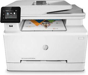 HP Color LaserJet Pro M283fdw, Stampante Wi-Fi Multifunzione, Fino a 21 ppm, fro