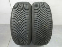 2x Winterreifen Michelin Alpin 5 215/60 R16 99H XL M+S / DOT 4117 / 8,0 mm