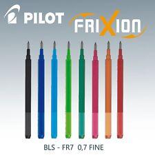 Pilot Frixion Ball 07 Tintenroller Mine Ersatzmine BLS-FR7 0,7 Fine