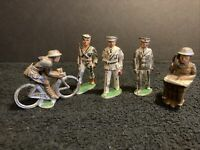 antique lead soldiers Set Of Five UnSure Of Maker Maybe Your Lucky Day!