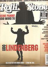 """ROLLING STONE """"MAI 2016"""" + UDO LINDENBERG """"Alles klar auf der..."""" 7 Inch Vinyl"""