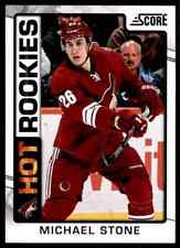 2012-13 Score Hot Rookies Michael Stone Rookie #512