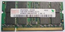 RAM 1 GB PC2700 CL2.5 DDR 333MHz SODIMM 200 pin