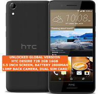 HTC DESIRE 728 2gb 16gb Octa-Core 13mp Camera 5.5 Inch Android 4g Lte Smartphone