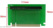 PCI Express x16 rigido Scheda riser. Extender. Adattatore.2 U PCI-E Riser Card