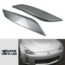 PAINTED for 350Z Z33 FAIRLADY Z 2D CONVERTIBLE FRONT COVER EYEBROWS EYELIDS #KY0