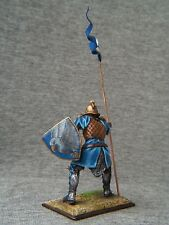 SALE!!! Elite tin soldiers St. Petersburg: A knight with a flag. 54 mm.