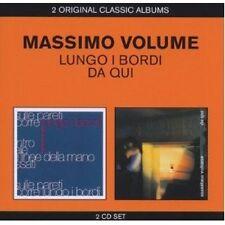 MASSIMO VOLUME - CLASSIC ALBUMS (2IN1-LUNGO I BORDI/DA QUI) 2 CD 23 TRACKS NEU