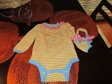 Sale! Adorable Matilda Jane Bodysuit with Headband Nwt Size 12-18M