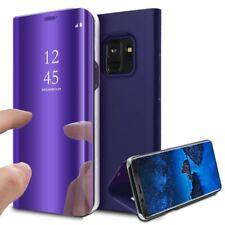 MP4 Telecom Étui à Rabat Violet pour Samsung Galaxy S9 (flipcos91)