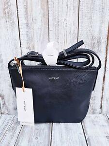 Anthropologie - Matt & Nat Dwell Collection Sam Vegan Crossbody Bag In Black
