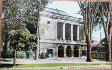 Pittsfield, MA 1910 Postcard: Colonial Theatre - Massachusetts Mass