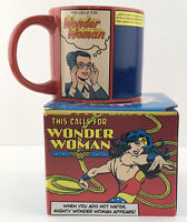 DC Comics This Calls for WONDER WOMAN Heat Activated Coffee Cup with Magic Lasso