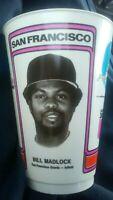 1978 Bill MADLOCK MLB San Francisco GIANTS Vintage Baseball 7-11 Cup slurpee 1