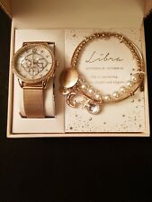 Alexis Bendel Libra Watch and Bracelet