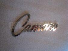 GM LICENSED, '69 Style Camaro Emblem Badge, Mirror Stainless Steel Nice!