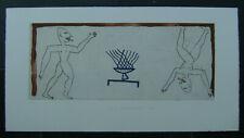 Originalradierung von Raymond Waydelich. Handsigniert, nummeriert, datiert