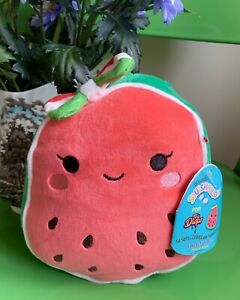 "BNWT Wanda Watermelon Mexican Exclusive Toy Drops Squishmallow  7"" 18cm"