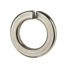 Split Lock Washer #10 Light Steel Zinc Plated w/ variations