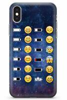 Modelo Del Espacio Emoji Batería Estuche Delgado para iPhone | Linda Em