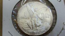 1985 Mexico Libertad Silver Onza