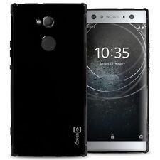 Black For Sony Xperia XA2 Ultra Case - Flexible TPU Rubber Gel Phone Cover