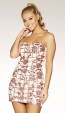 Rose Gold Sequin Dress Size 12