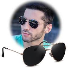 Occhiali da sole Unisex occhiali da pilota Aviator tinteggiato QUADRO COLORATO 400uv fliegerbr