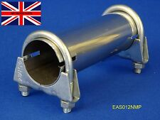 """Exhaust Sleeve Adapter Connector Pipe Stainless Steel 39mm (1.1/2"""") I.D. EAS012"""