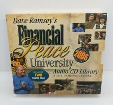 Dave Ramsey's Financial Peace University Audio CD Library Set 13 Lessons
