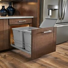 Under Cabinet Container Pull Out Sliding Trash Can Drawer Soft Close for Kitchen