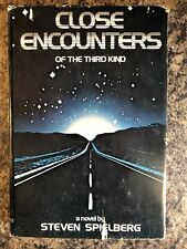 Close Encounters Of The Third Kind, Steven Spielberg, 1977 Vintage Hardcover Bce