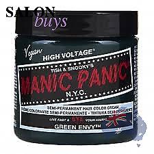 Manic Panic Classic Hair Colour 118ml Green Envy