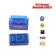 ELM327 V1.5 Bluetooth OBD2 For Android/Torque Super Diagnostic Code Reader