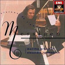 Olivier Messiaen: Visions de l'Amen - Rabinovitch & Argerich (CD, 1990, EMI)