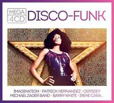 DISCO FUNK - IMAGINATION, PATRICK HERNANDEZ, ODYSSEY, IRENE CARA U.A.  4 CD NEUF