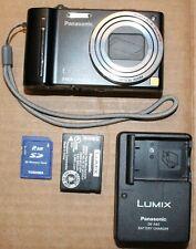 Panasonic Lumix DMC-ZS7 12.1MP Digital Camera 12X Zoom 2GB SD Card Battery Chg
