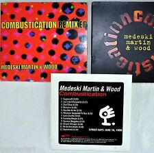Medeski Martin and Wood 3 CD Lot Combustication Promo +Reg + Remix EP Blue Note