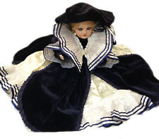 BAMBOLA PORCELLANA BISCUIT CLEò VELLUTO MILA FAENZA DOLL PORCELAIN NEW