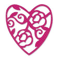 Sizzix Sizzlits Stanze Heart Lace 657418