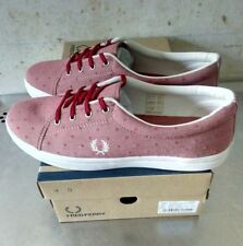 FRED PERRY aubyn flocked deep red 40 EU NEW OG BOX