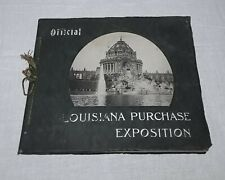 1904 LOUISIANA PURCHASE EXPOSITION OFFICIAL PHOTOGRAPHIC COMPANY PHOTO BOOK