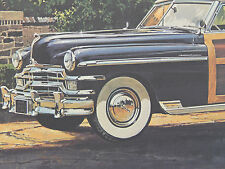 1949 Chrysler Town & Country Convertible Print, James B. Deneen, c.1978 #04