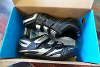 "Shimano SH-R076L Road Cycling Shoes EU 36 US ""3.7"" 4 SPD-SL Black New in Box"