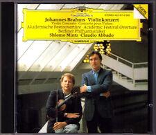 Shlomo Mintz & Claudio credesse: Brahms Violin Concerto Academic Festival Overture